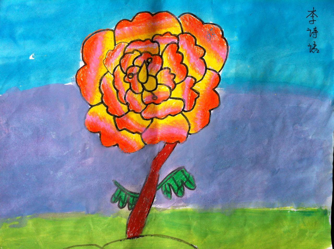 作品名称:  《牡丹花》